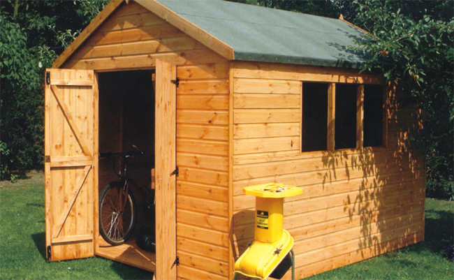 traditional wooden workshop, wooden garages also available