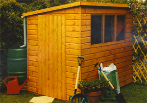 Shire - Caldey wooden shed