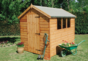 Shedlands - Dalby Apex wooden shed