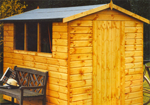 Shire - Lewis wooden shed
