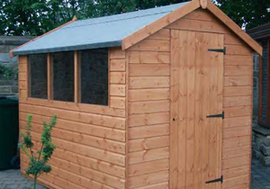 Regency - Royston traditional wooden shed