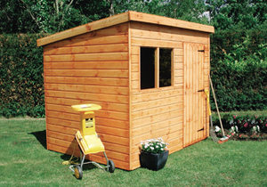 Shedlands - Sherwood Pent wooden shed