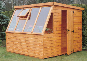 Regency - The Suntrap wooden shed