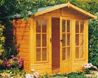wooden summerhouses - all shapes and sizes