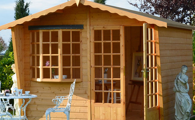 high quality, british made wooden summerhouse